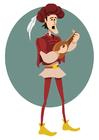 Afbeelding troubadour