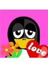 Afbeelding verliefd