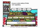 Afbeelding Verse groenten en fruit