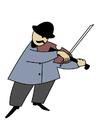 Afbeelding violist