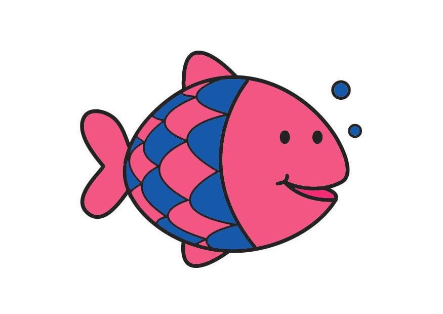 Afbeelding prent vis afb 20999 - Bebe ontwerp ...