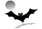 Afbeelding vleermuis