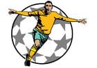 Afbeelding voetbal goal