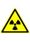 Afbeelding waarschuwing radioactief
