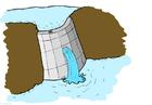 Afbeelding waterkracht - stuwdam