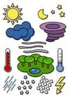 Afbeelding weer symbolen