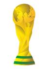 Afbeelding wereldbeker trofee