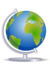 Afbeelding wereldbol