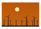 Afbeelding windmolenpark