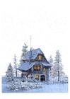 Afbeelding winterlandschap