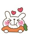 Afbeelding wortel - konijn