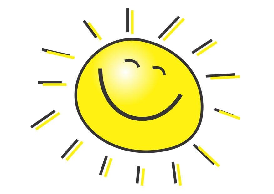 Afbeeldingsresultaat voor zon tekening