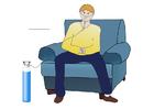 Afbeelding zuurstof toedienen