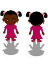 Afbeelding zwart meisje