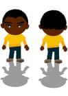 Afbeelding zwarte jongen