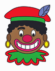 Afbeelding Zwarte Piet gezicht
