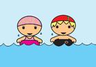 Afbeelding zwemmen