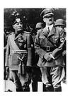 Foto Adolf Hitler en Mussolini