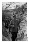 Foto Generaal aan het front in Frankrijk