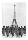 Foto Hitler onder de eifeltoren