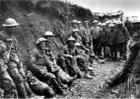 Foto Ierse fuseliers bij de slag aan de Somme