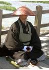 Foto Japanse Boedhistische monnik