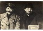 Foto Stalin en Lenin