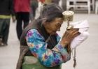 Foto Tibetaanse vrouw