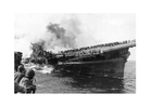 Foto USS Franklin 1945