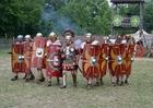 Foto aanval Romeinse soldaten 70 AC.