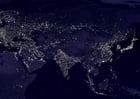 Foto aarde 's nachts - verstedelijkte gebieden  5