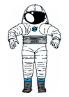 Afbeelding astronautenpak