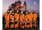 Foto bemanning space shuttle