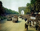 Foto bevrijding van Parijs