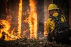 Foto brandweerman