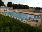 Foto buitenzwembad