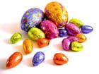 Foto chocolade eieren