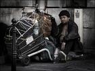 Foto dakloze in Parijs