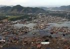Foto dorp na Tsunami
