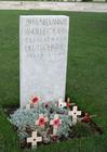 Foto Tyne Cot Cemetery - graf Duitse soldaat