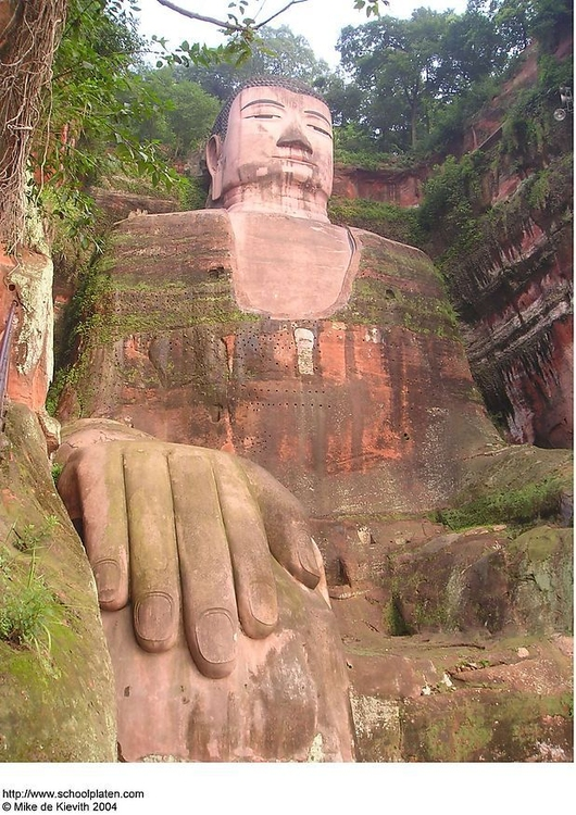 Foto Giant buddha in Leshan