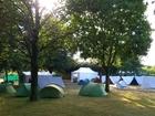 Foto kamperen