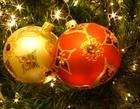 Foto kerstbollen