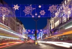 Foto kerstversiering-Londen