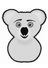 Kleurplaat koala