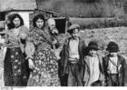 Foto Kroatie - roma kinderen en vrouwen