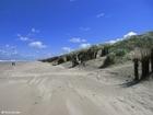 Foto kust strand duinen