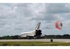 Foto landing Space Shuttle