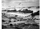 Foto Landing van Normandie, aanvoer materiaal