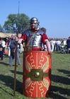 Foto legionair - Romeins soldaat